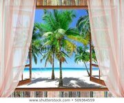 open-window-view-sea-good-450w-509364559