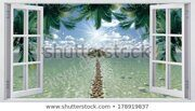 view-window-on-tropical-island-450w-178919837
