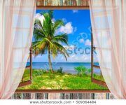 open-window-view-sea-good-450w-509364484