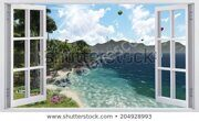 beautiful-view-window-450w-204928993