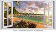 beautiful-views-tropical-island-450w-210404284